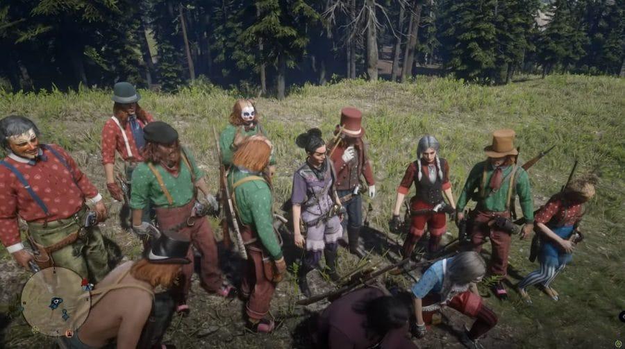 Red Dead Online: jogadores se vestem como palhaços e cobram novidades no jogo