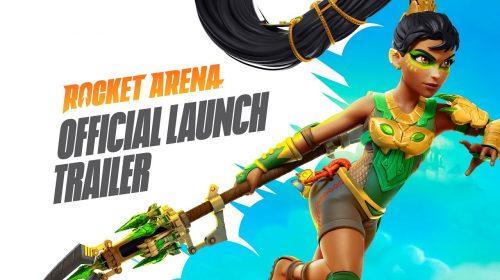 EA publica trailer de lançamento explosivo e divertido de Rocket Arena