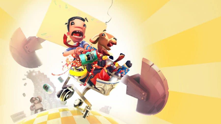 Supermarket Shriek, jogo de corrida com carrinho de supermercado, vai chegar ao PS4