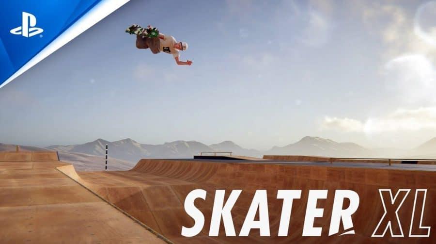 Skater XL recebe trailer introduzindo mapa com uma Mega Rampa