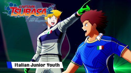 Retranca pura! Jogo do Super Campeões apresenta trailer da seleção italiana