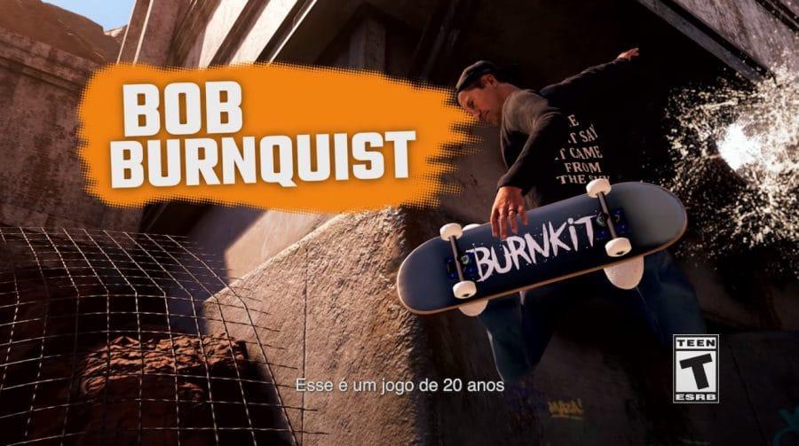 Bob Burnquist comenta participação em Tony Hawk's Pro Skater 1+2