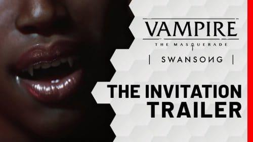 Vampire: The Masquerade - Swansong é anunciado para o PS5