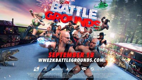 WWE 2K Battlegrounds chegará dia 18 de setembro