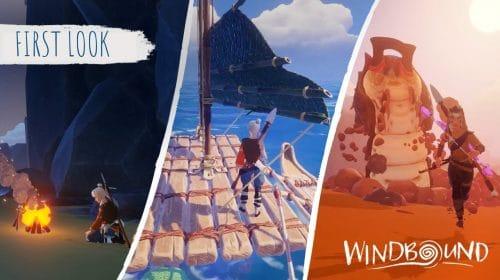 Windbound é detalhado em novos 20 minutos de gameplay
