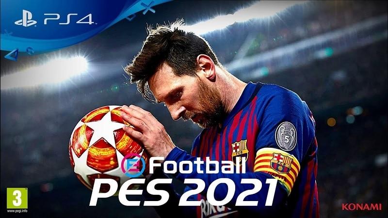 Konami confirma: eFootball PES 2021 será uma