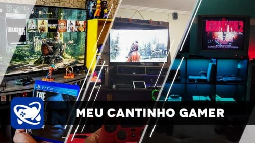Meu Cantinho Gamer: as gaming rooms mais legais da semana #8