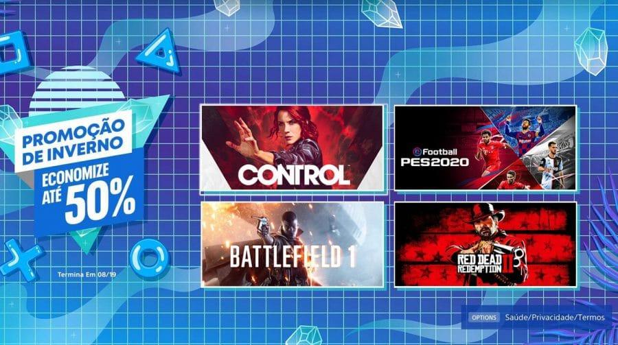 A partir de R$ 5,95: Sony lança Promoção de Inverno na PS Store
