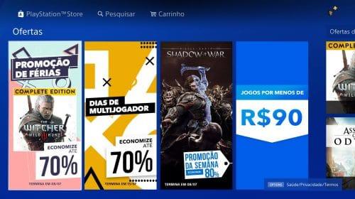 Até 70% de descontos: Sony anuncia promoção na PlayStation Store com foco em multijogador