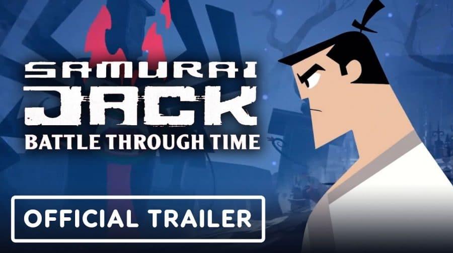 Samurai Jack: Battle Through Time chega em agosto ao PS4