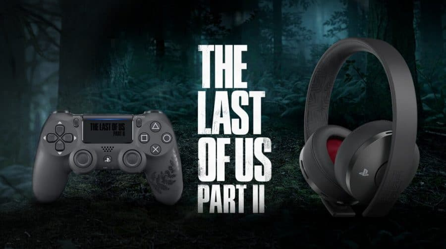 LINDOS: Headset e DualShock 4 especiais de The Last of Us 2 chegam aos estoques!