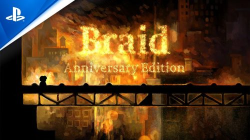 Braid Anniversary Edition é anunciado no State of Play para PS4 e PS5