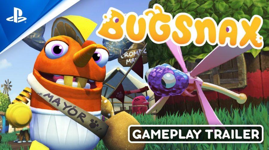 Bugsnax recebe trailer de gameplay no State of Play