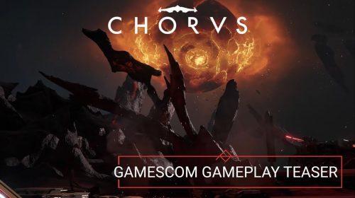 Gameplay de Chorus destaca os combates intensos no espaço