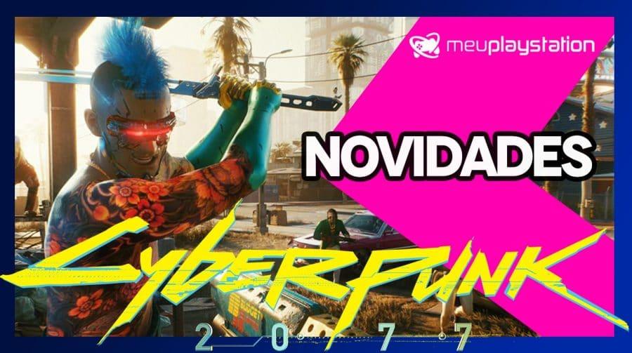 🔴 [AO VIVO] Novidades de Cyberpunk 2077