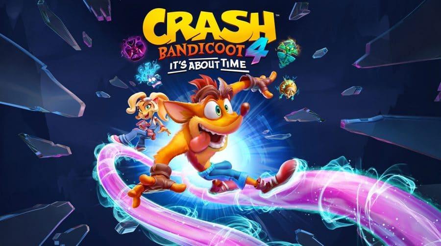 Crash Bandicoot 4: It's About Time estará no State of Play desta quinta-feira (06)