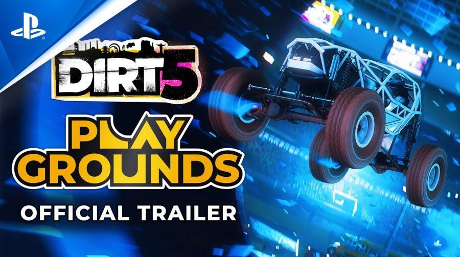 DIRT 5: novo trailer destaca criativo modo Playgrounds
