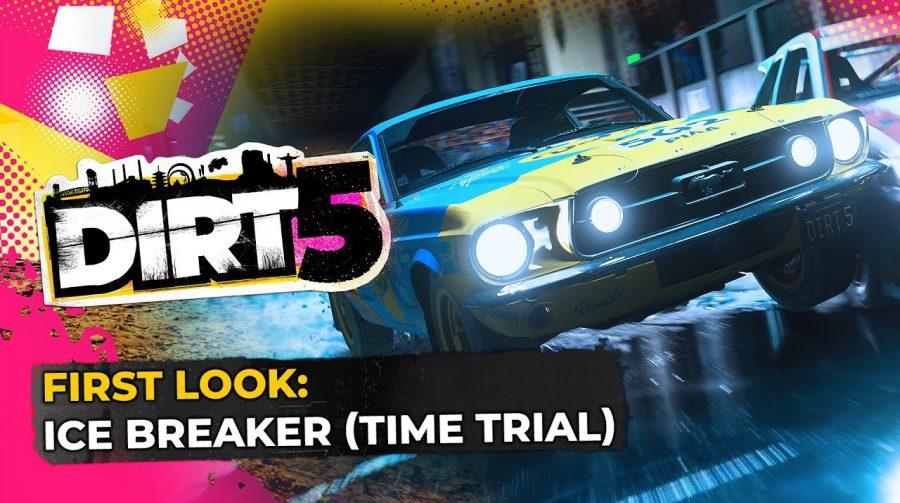 Novo gameplay de DiRT 5 mostra corrida em condições escorregadias