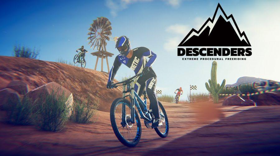 Descenders, um jogo de bicicleta com 500 mil fases, está disponível no PS4