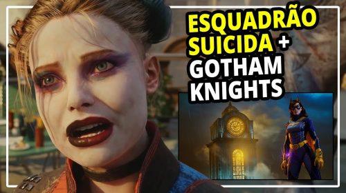 O que esperar dos jogos ESQUADRÃO SUICIDA e GOTHAM KNIGHTS?