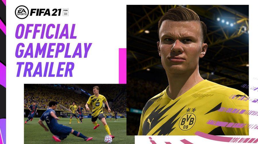 Novo trailer de FIFA 21 foca em diversos elementos de gameplay