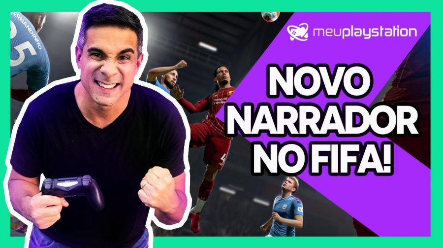 FIFA 21 terá NOVO NARRADOR e outras NOVIDADES!