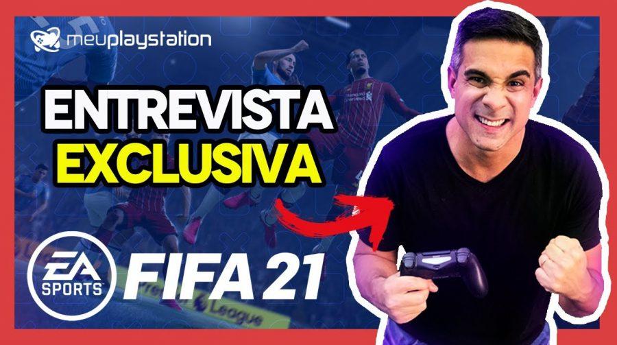 Exclusivo: Villani conta como será sua narração em FIFA 21