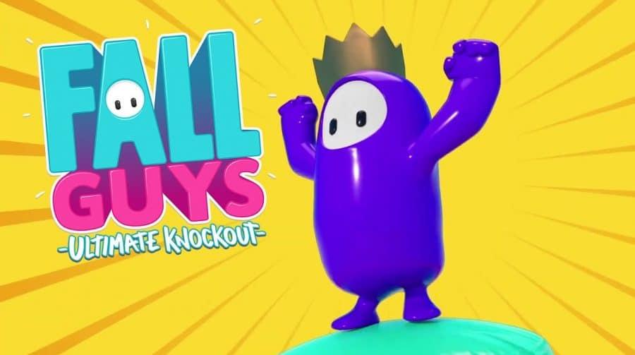Fall Guys: Ultimate Knockout se torna o jogo mais baixado da história da PS Plus