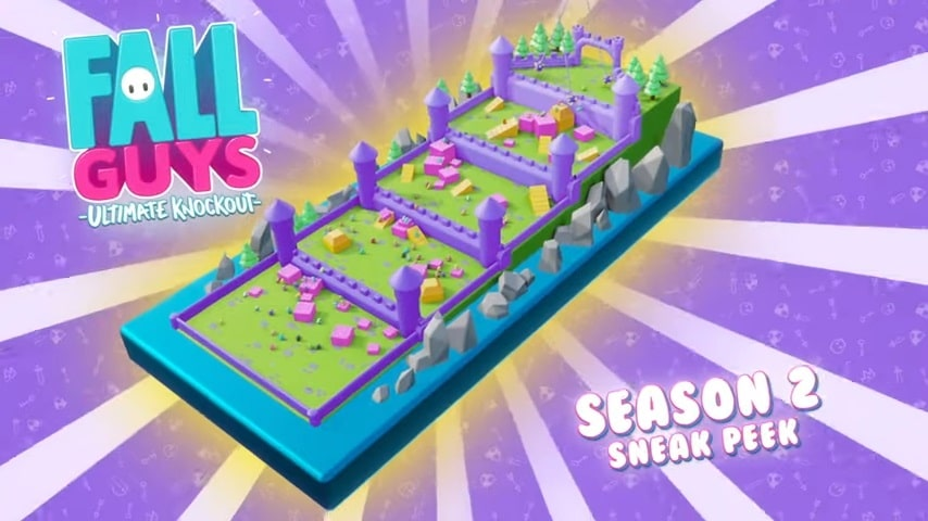 Fall Guys - Season 2 - Mapa 5