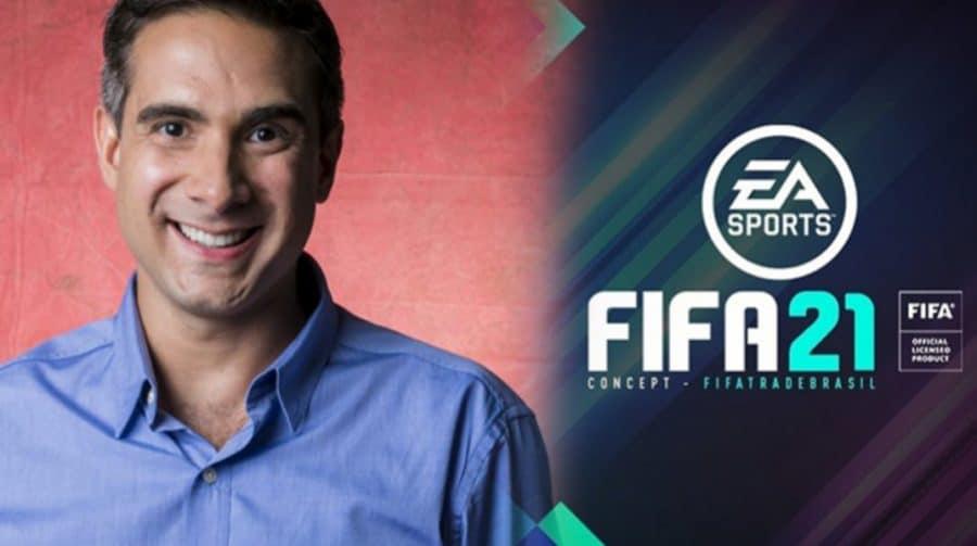 [Atualizado] É oficial: Gustavo Villani substitui Tiago Leifert na narração do FIFA 21
