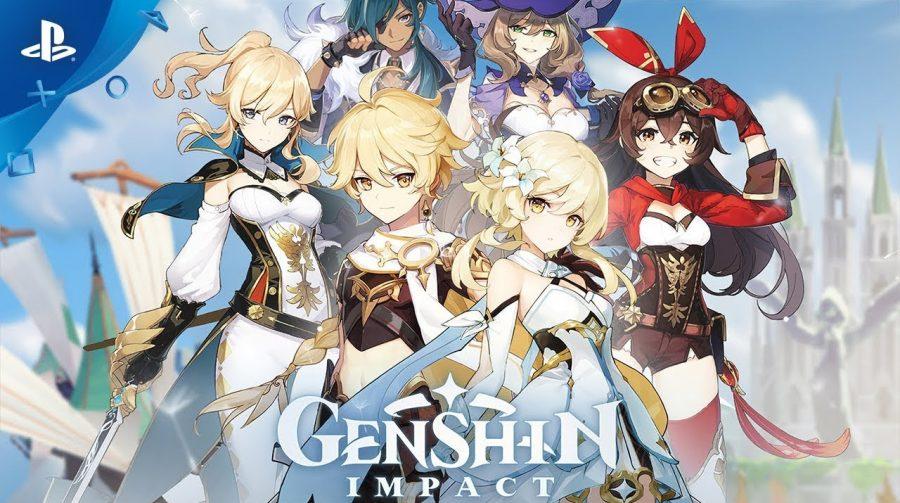 Genshin Impact será lançado no PlayStation 4 em 28 de setembro