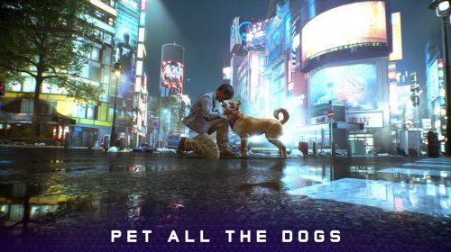 Jogadores poderão acariciar todos os cachorros em GhostWire Tokyo