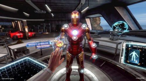 Update de Marvel's Iron Man VR traz New Game+ e novas armas