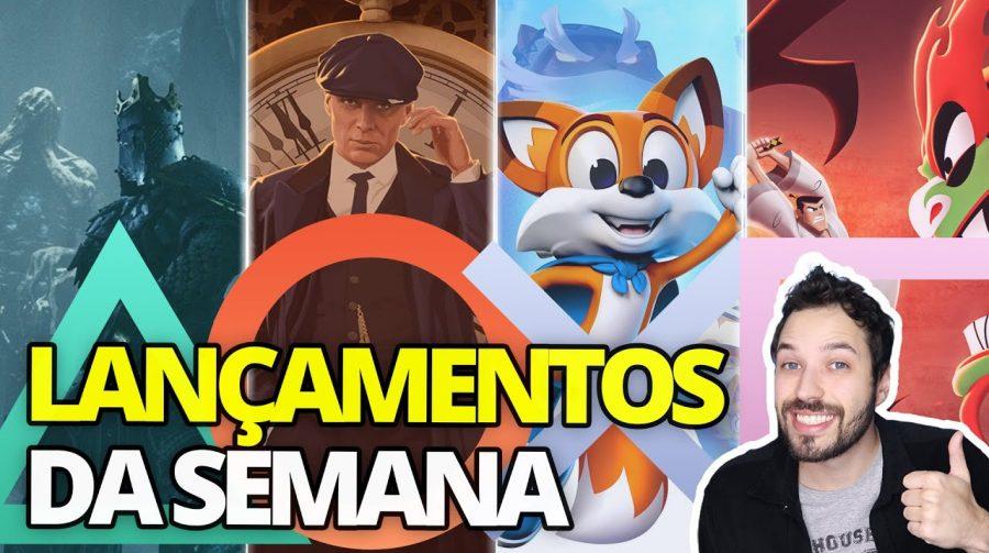LANÇAMENTOS da SEMANA: os PRINCIPAIS JOGOS que chegam ao PS4!