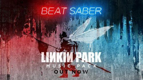 Beat Saber recebe 11 canções lendárias do Linkin Park