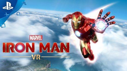 Marvel's Iron Man VR: trailer de aclamação destaca pontos fortes
