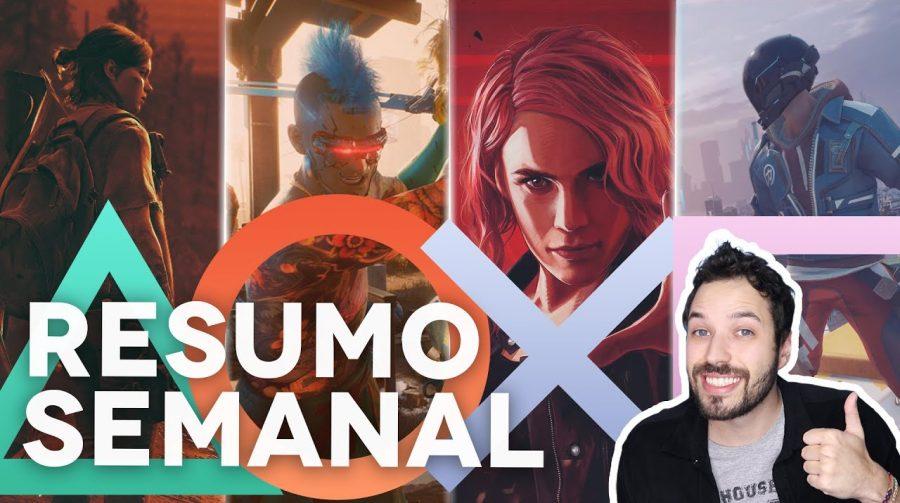 RESUMO SEMANAL: novidades da semana do universo PlayStation