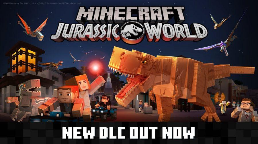 Jurassic World chega a Minecraft como DLC
