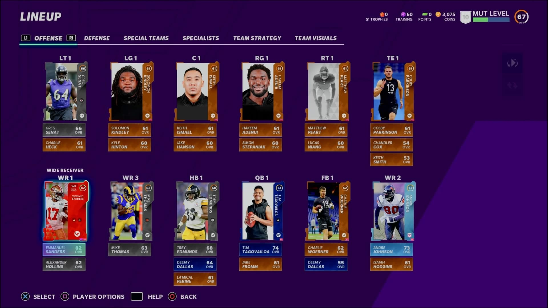 Ultimate Team é o foco de Madden NFL 21