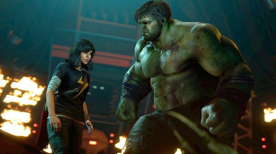 Marvel's Avengers:  Gaviã Arqueira, Máquina de Combate e Mulher-Hulk no jogo?