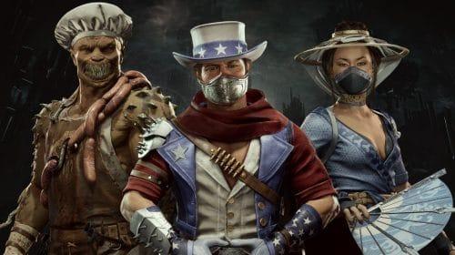 Mortal Kombat 11: Aftermath receberá três pacotes com skins de personagens