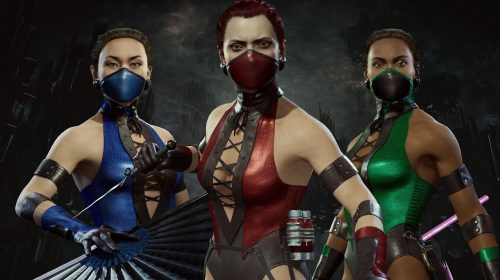 Lutadoras de Mortal Kombat 11 recebem skins