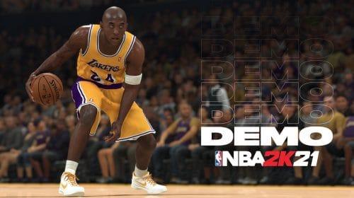 DEMO de NBA 2K21 já está disponível na PlayStation Store