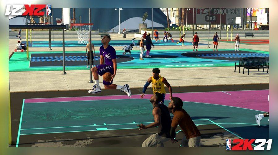 Novo trailer de NBA 2K21 destaca modo Carreira e Neighborhood