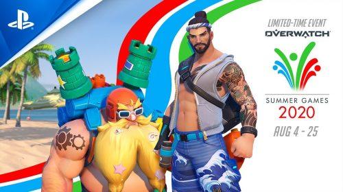 Overwatch: Jogos de Verão retornaram com
