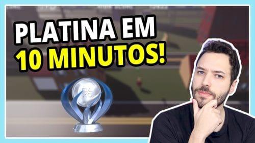 A PLATINA mais RÁPIDA e FÁCIL do PS4!    Road Bustle