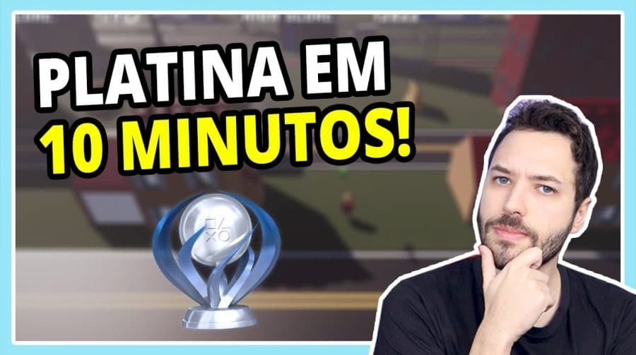 A PLATINA mais RÁPIDA e FÁCIL do PS4! || Road Bustle
