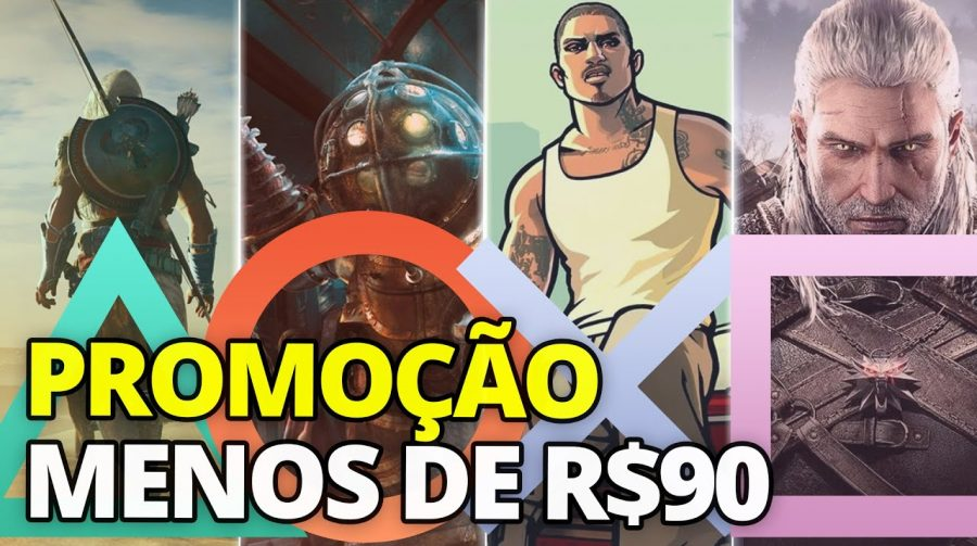 Promoção na PS Store: jogos por menos de R$ 90