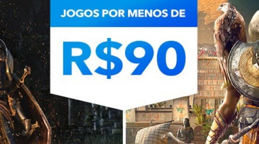 Jogos por Menos de R$ 90: Sony lança nova promoção na PS Store