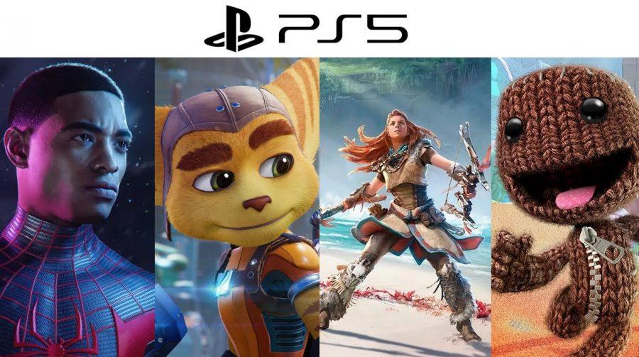 Sony quer lançar exclusivos mais rapidamente no PS5